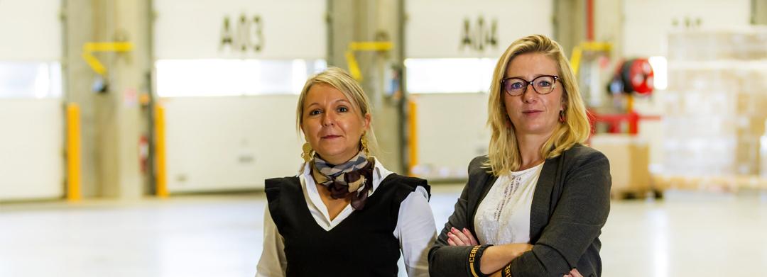 Anne Leconte (agence Nord) & Virginie Huré (Agence sud) - Conseil en logistique)